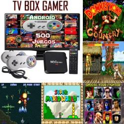 TV BOX GAMER KIT 2 JOY SNES...