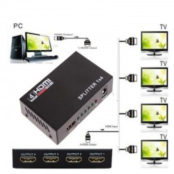 Spliter HDMI a 4 Pantallas