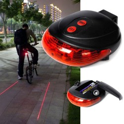 Luz Laser Bicicleta + Luz...